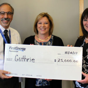 FirstEnergy Foundation Donates $25,000 to Guthrie in Central Pennsylvania