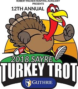 Run Off Those Thanksgiving Calories at the Guthrie Sayre Turkey Trot!