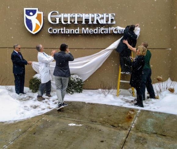Guthrie and Cortland Regional Finalize Affiliation