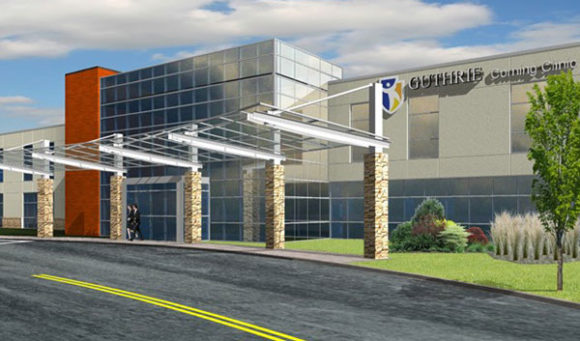 A First Look at the New East Corning Medical Office Building