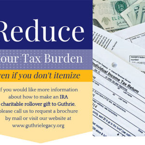 Reduce Your Tax Burden