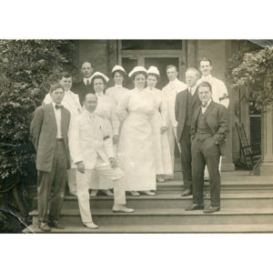 Donald Guthrie, M.D. arrived in Sayre One Hundred Ten Years ago on January 10.