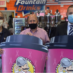 Dandy Pink Cups for a Cure Campaign Benefits Guthrie Breast Cancer Fund