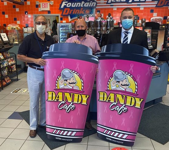 Dandy Pink Cups Campaign Raises More Than $7,600 for Guthrie Breast Care Fund