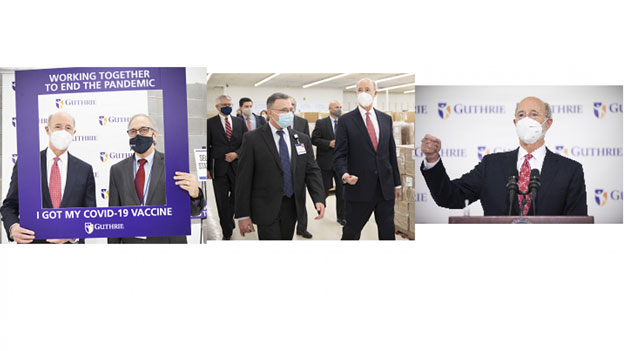 Governor Wolf Visits Guthrie