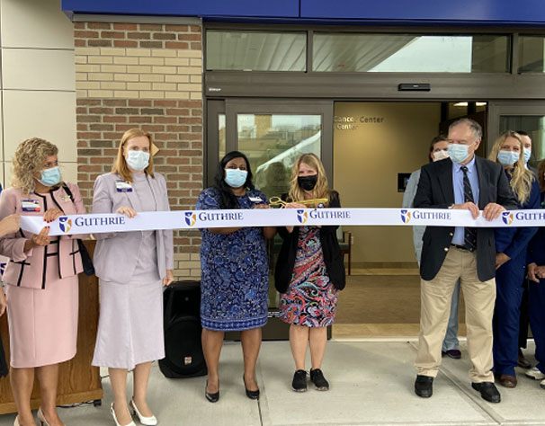 Ribbon-Cutting for Renzi Cancer Center at Guthrie Cortland Medical Center