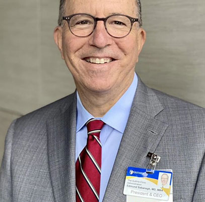 Guthrie Welcomes New President and CEO, Edmund Sabanegh, MD, MBA